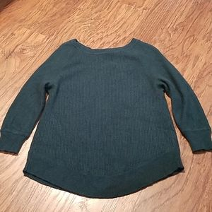 J. Crew Factory Sweaters - J.Crew Fty Merino wool blend green sweater Small